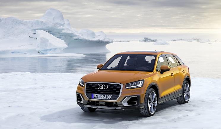 das neue SUV von Audi, der Q2