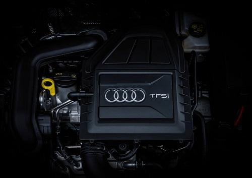 Audi A3 Facelift 2016 Motorraum