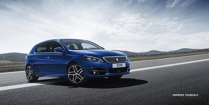 Aktuelle Euro 6d-TEMP Modelle der neue Peugeot 308 gehört dazu Bildquelle: Peugeot.de