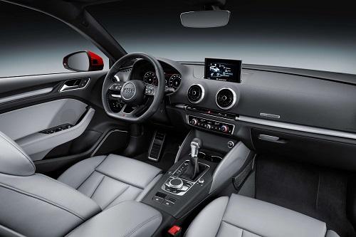 Audi A3 Facelift 2016 Innenraum