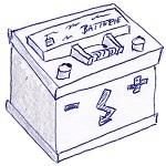 Autobatterie-Skizze-Aufbau-Wechseln leicht gemacht