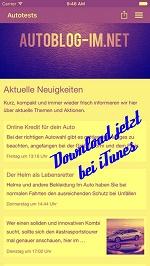 Autoblogimnet App Download bei iTunes