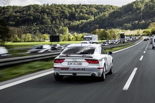 Autonom unterwegs mit dem Audi A7 Jack Bildquelle: blog.audi.de