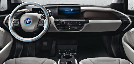 BMW i3 Erfahrungen Blick in den Innenraum des BMW i3 Bildquelle: BMW