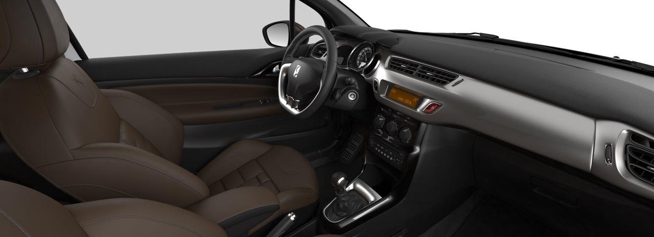 Besonderheiten von DS Automobiles Innenraum des DS 3 Cabrio Bildquelle: dsautomobiles.ch