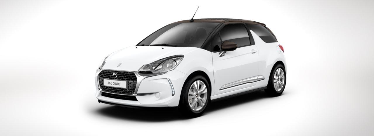 Besonderheiten von DS Automobiles hier Blick von Vorne auf das DS 3 Cabrio Bildquelle: dsautomobiles.ch