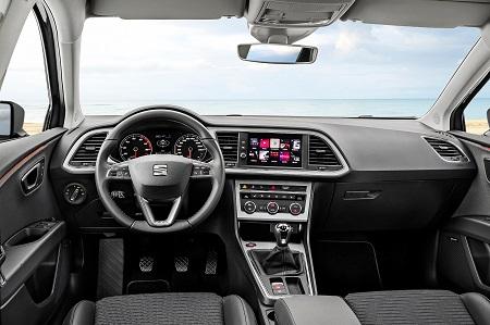 Bild des neuen Seat Leon ST Facelift Blick ins Cockpit Bildquelle: seat-mediacenter.de