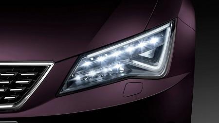 Bild des neuen Seat Leon ST Facelift Full-LED Scheinwerfer Bildquelle: seat-mediacenter.de