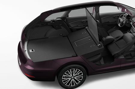 Bild des neuen Seat Leon ST Facelift Kofferraumvolumen und Raumangebot Bildquelle: seat-mediacenter.de