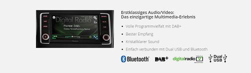 Bild vom NAVGATE EVO von Pioneer das neue Multimediaerlebnis Bildquelle: pioneer-car.de