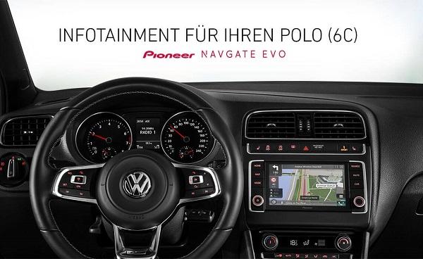 NAVGATE EVO Neues für den VW Polo 6C