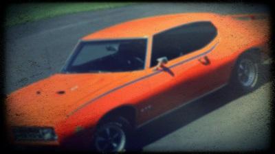 Bild vom Pontiac GTO The Judge 1969 ein Stück Autogeschichte aus den USA der GTO von Pontiac