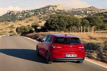 Bild vom neuen Hyundai i30 2017 Heckansicht Blick von Hinten Bildquelle: hyundai.de