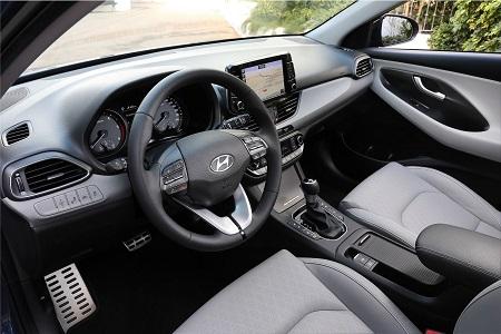 Bild vom neuen Hyundai i30 2017 Innenraum Interieur Bildquelle: hyundai.de