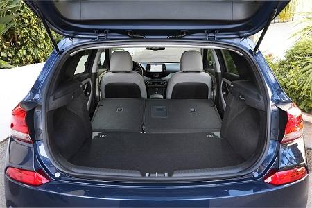 Bild vom neuen Hyundai i30 2017 Kofferraum Gepäckraum Bildquelle: hyundai.de