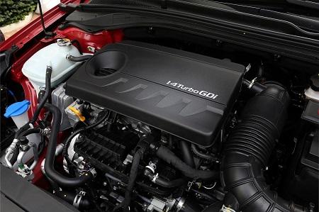 Bild vom neuen Hyundai i30 2017 Motorraum Bildquelle: hyundai.de