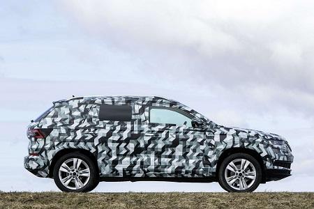 Bild vom neuen Skoda Karoq Kompakt-SUV, Nachfolger des Yeti Seitenansicht Bildquelle: skoda-presse.de