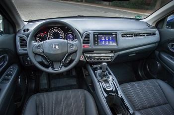 Der Honda HRV Cockpit Bildquelle: hondanews.eu