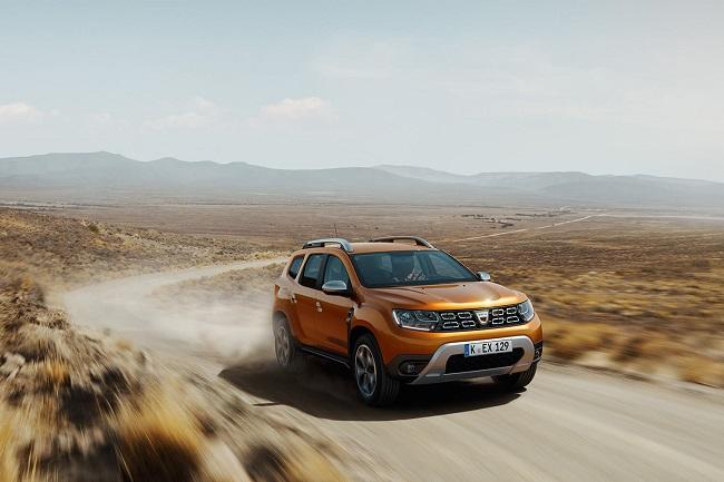 Dacia Duster 2018 Daten und Fakten zur Weltpremiere - der neue Duster 2018 Frontansicht Bildquelle: Dacia.de
