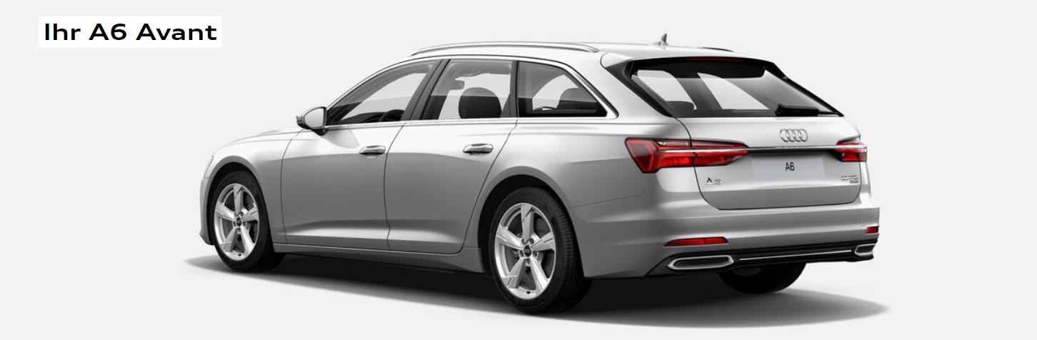 Daten/Kritik Audi A6 Avant 55 Heck Bildquelle: Audi.de