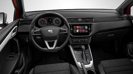 Der neue Crossover von Seat, der neue Seat Arona, Seat Arona Fakten hier Cockpit Bildquelle: seat-mediacenter.de