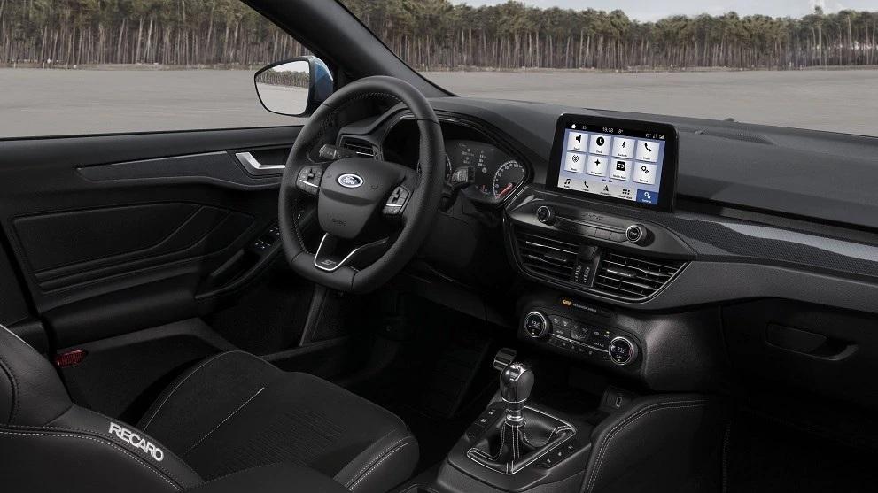 Der neue Ford Focus ST 2019 Innenraum Bildquelle: Ford.de