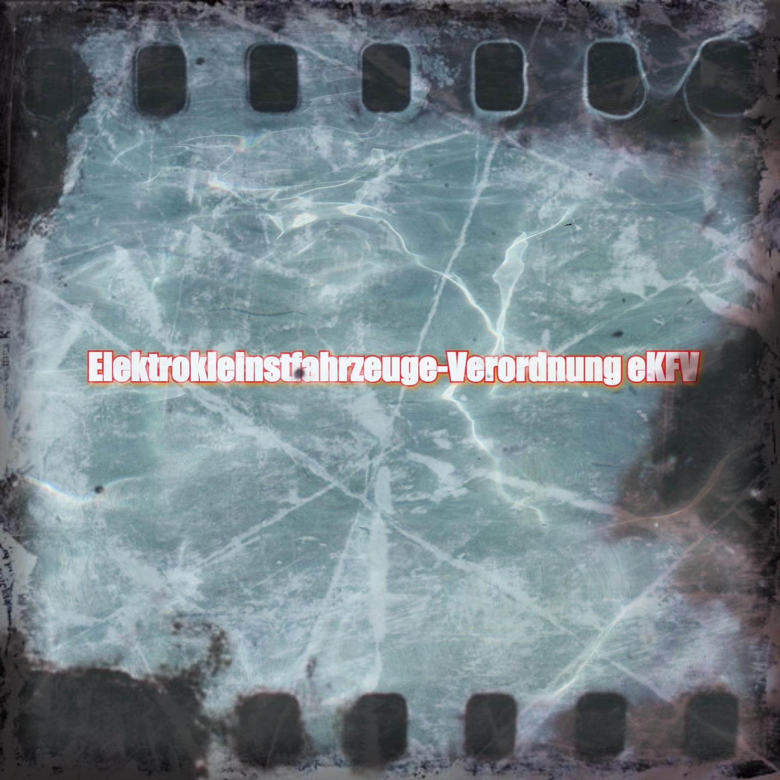 Elektrokleinstfahrzeuge-Verordnung für Elektro-Tretroller
