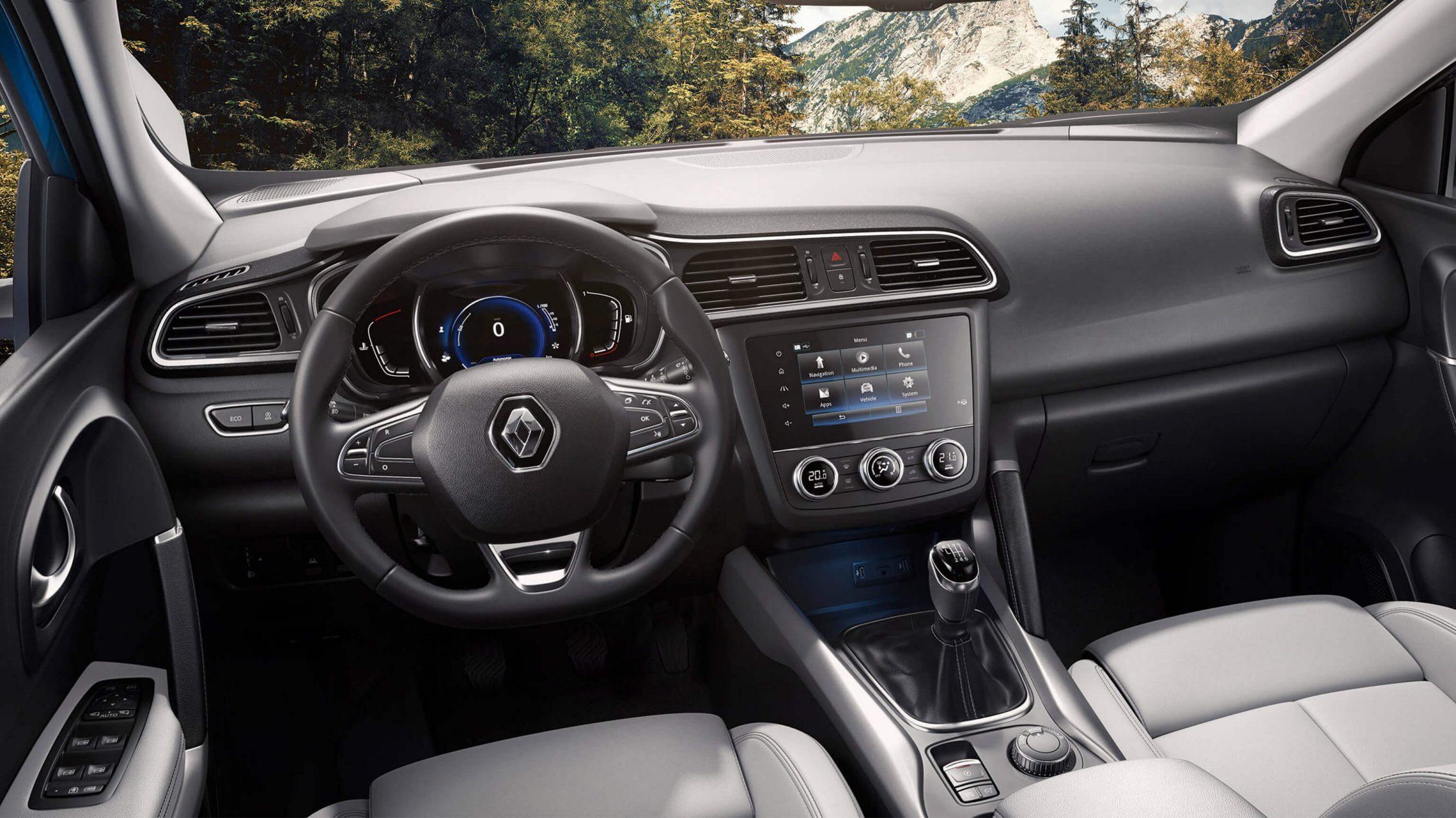 Erfahrungen Renault Kadjar - der Innenraum Bildquelle: Renault.de
