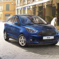 Erfahrungen zum Ford Ka+ Bild von der Front-Kühlergrill Ka Plus Bildquelle: Ford.de