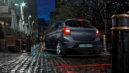 Erfahrungen zum Ford Ka+ Heckansicht des neuen Ford Ka Plus Bildquelle: Ford.de