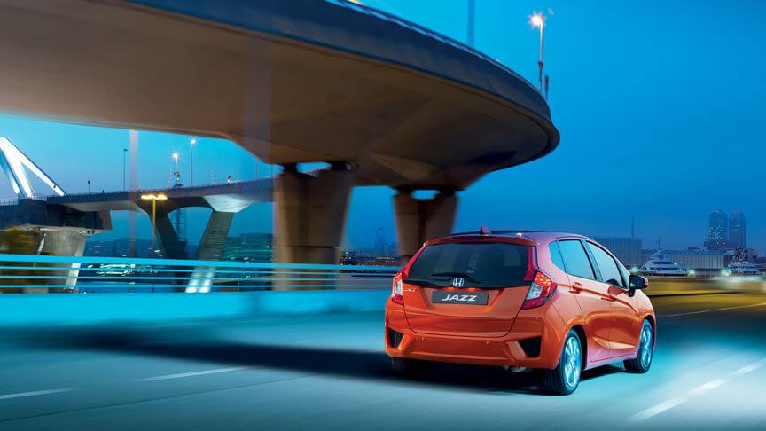 Erfahrungen zum Honda Jazz Heckansicht des Jazz von Honda Bildquelle: Honda.de