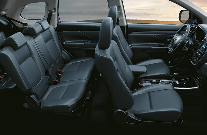 Erfahrungen zum Mitsubishi Outlander Blick in den Innenraum Bildquelle: mitsubishi-motors.de