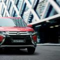 Erfahrungen zum Mitsubishi Outlander Frontansicht des Outlander Bildquelle: mitsubishi-motors.de