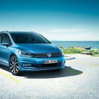Erfahrungen zum VW Touran, Bild von der Front des neuen Touran Bildquelle: Volkswagen.de