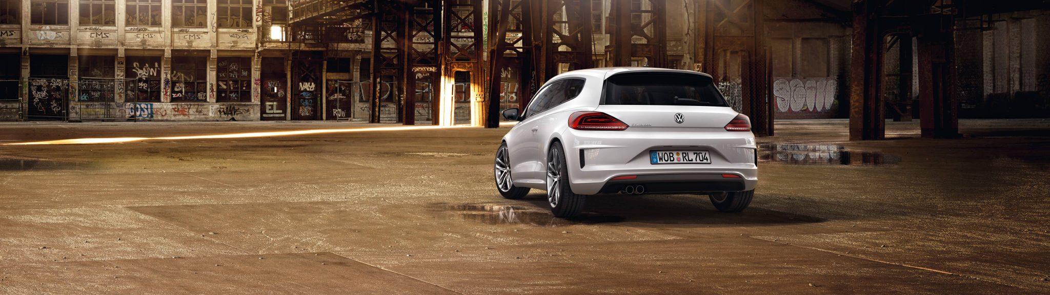 Erfahrungsbericht VW Scirocco Heckansicht Bildquelle: volkswagen.de