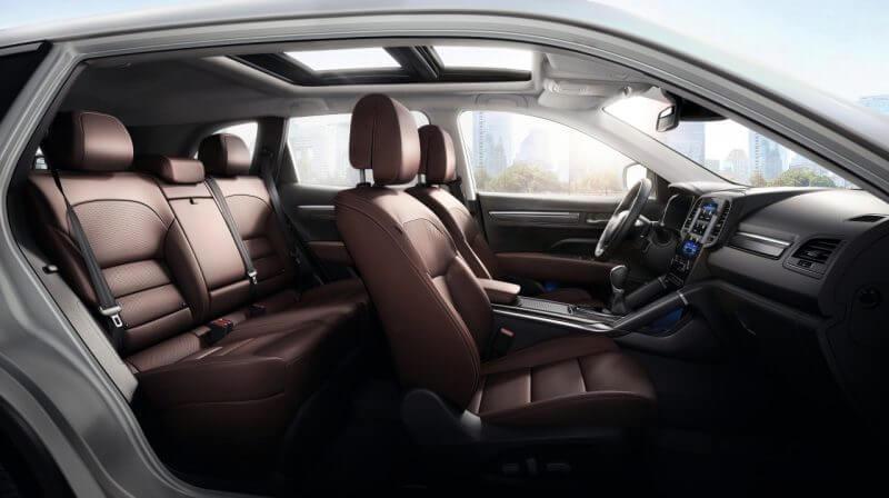 Erfahrungsbericht zum Renault Koleos Blick in den Innenraum Bildquelle: Renault.de
