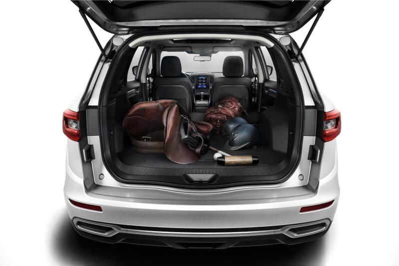 Erfahrungsbericht zum Renault Koleos Kofferraum und Heckansicht Bildquelle: Renault.de