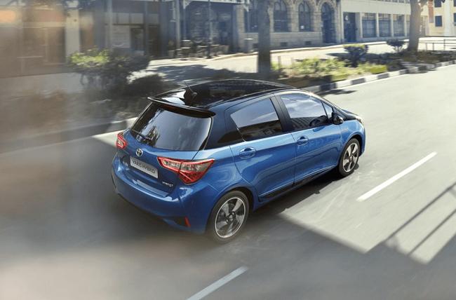 Erfahrungsbericht zum Toyota Yaris Ansicht vom Heck Bildquelle: Toyota
