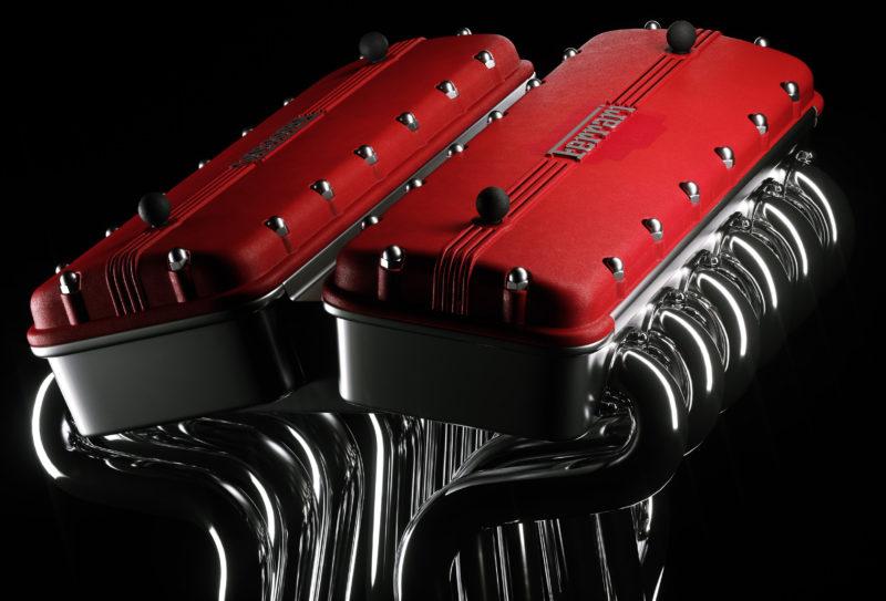 Ferrari Buch im Ledereinband