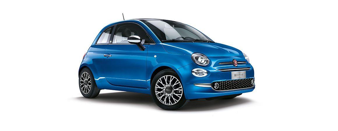 Fiat 500 1.2 Mirror Frontansicht Bildquelle: fiat.de