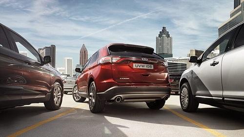 Ford Edge 2016 Test Heck