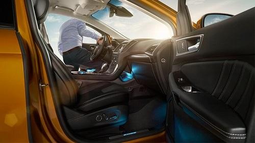 Ford Edge 2016 Test Innenraum