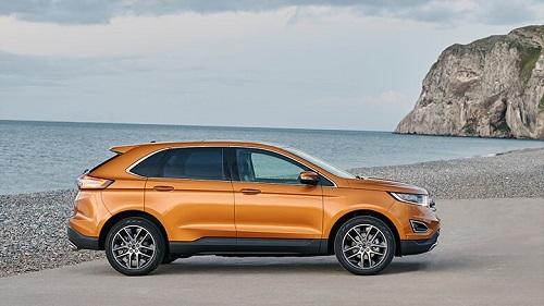Ford Edge 2016 Test Seite