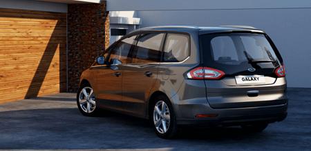 Ford Galaxy Erfahrungen zum neuen VAN von Ford Heckansicht Bildquelle: ford.de