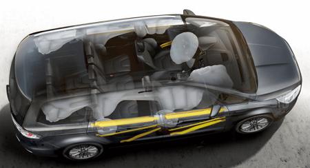 Ford Galaxy Erfahrungen zum neuen VAN von Ford Sicherheit im Galaxy Bildquelle: ford.de