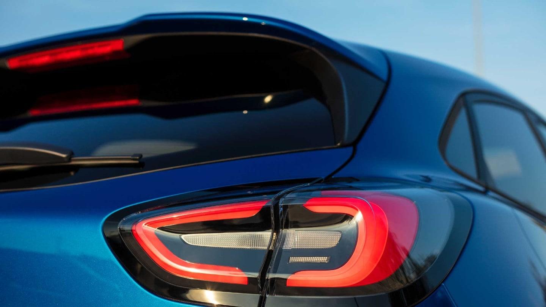 Ford Puma 2019 Heckansicht und Rückleuchten Bildquelle: Ford.de