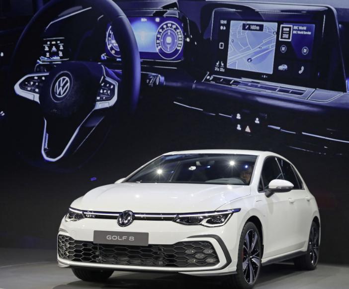 Frontansicht VW Golf 8 Daten Bildquelle: Volkswagen