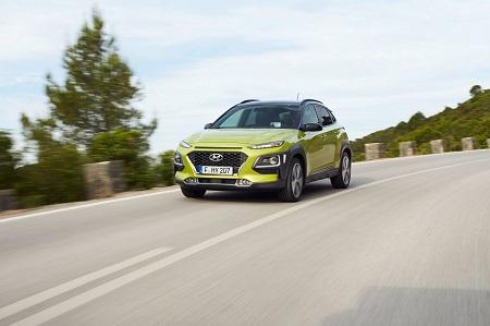 Frontansicht des neuen Hyundai Kona Bildquelle: hyundai.de