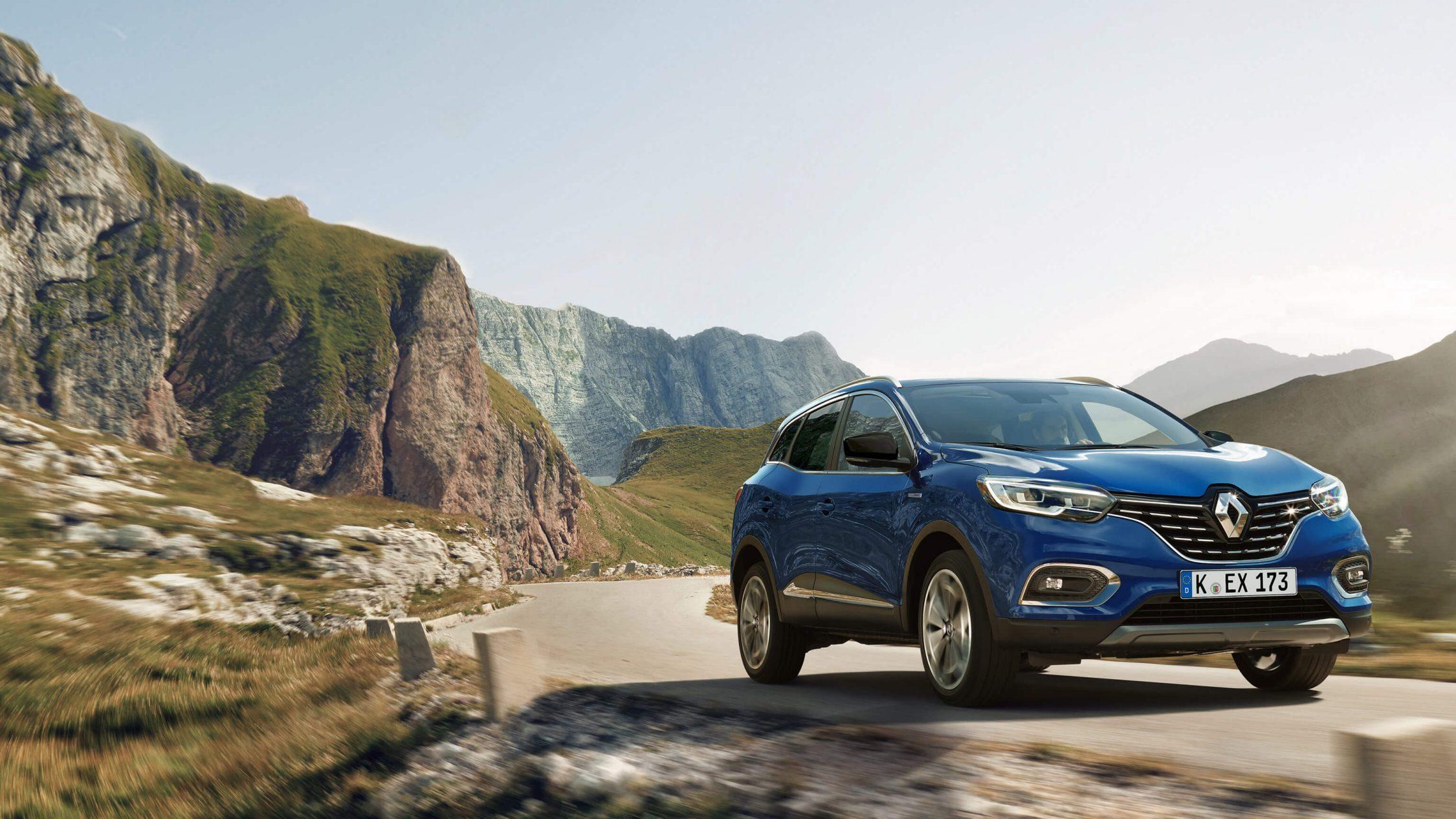 Frontansicht des neuen Kadjar Erfahrungen Renault Kadjar Bildquelle: Renault.de