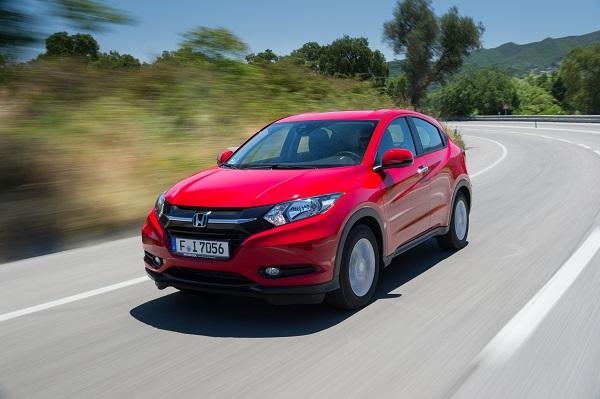 Der Honda HRV Bildquelle: hondanews.eu
